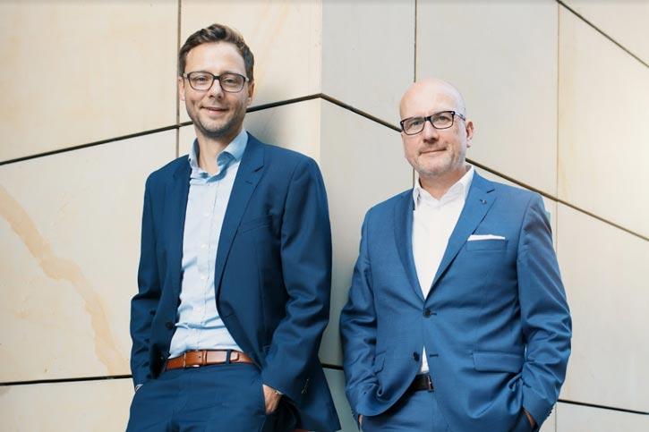 Stefan Flinspach, Johannes Ranscht Geschäftsführer von Seedmatch