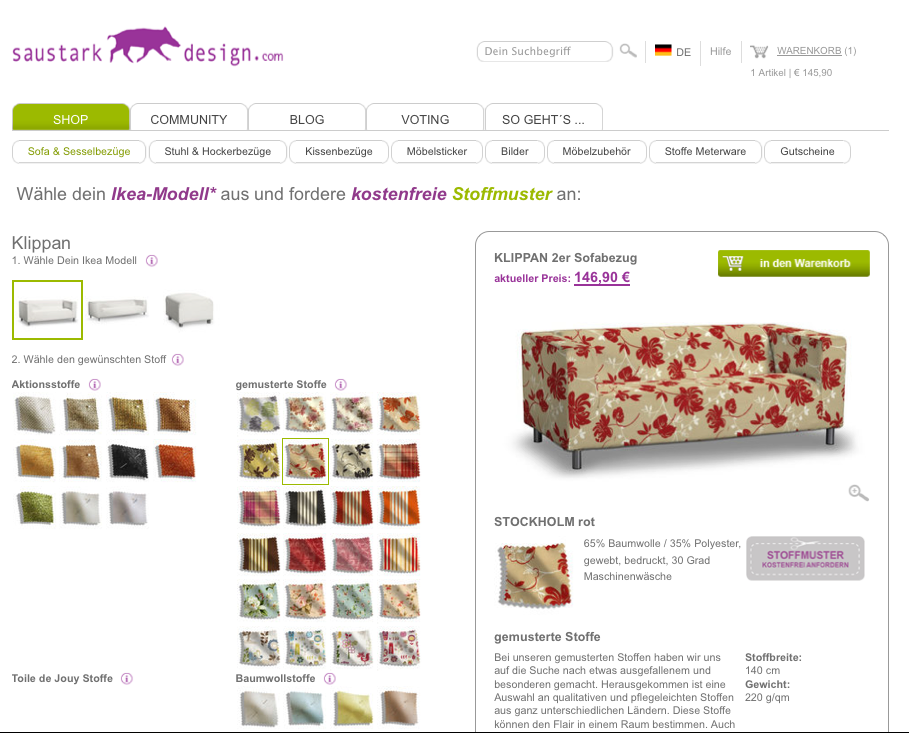 crowdfunding f r saustark design seedmatch. Black Bedroom Furniture Sets. Home Design Ideas